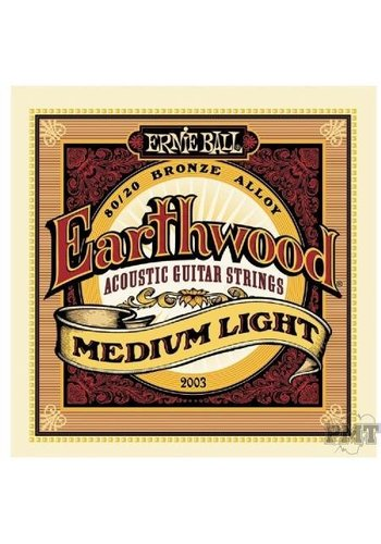 earthwood Ernie Ball Earthwood Medium Light Acoustic