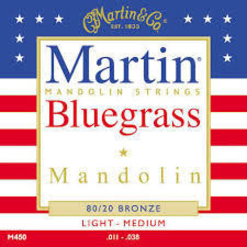 Martin Strings Martin M450 Mandolin 0.011  0.038 strings