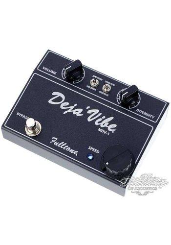 Fulltone Fulltone Mini Deja Vibe MDV-1 Black vibrato