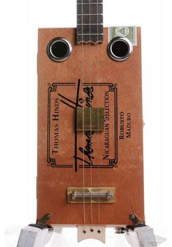 Ziggabox Ziggabox Maduro Robusto 3-string Cigarbox guitar
