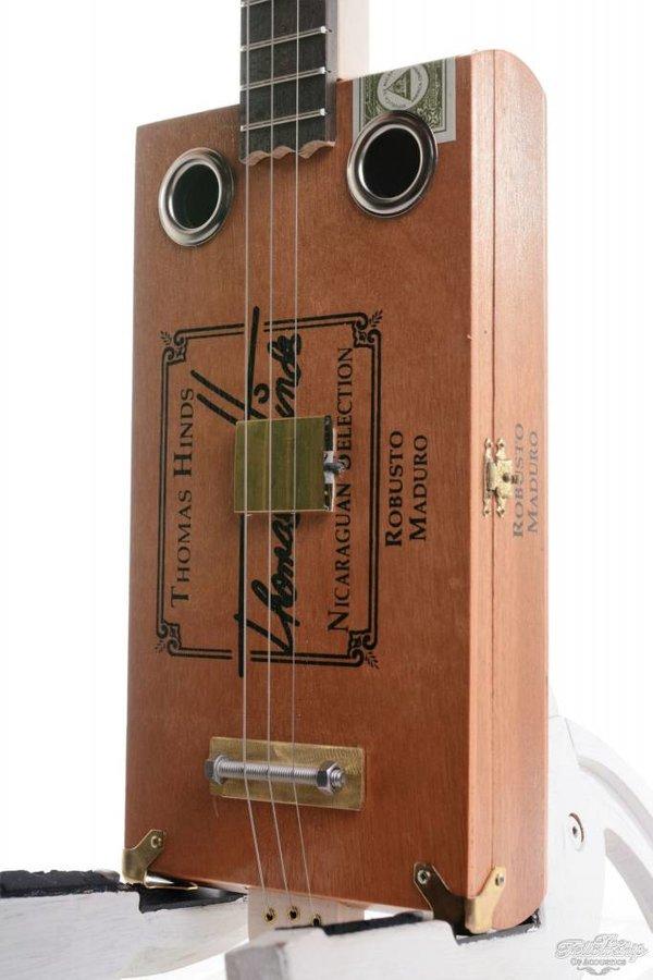 Ziggabox Maduro Robusto 3-string Cigarbox guitar