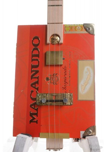 Ziggabox Ziggabox Macanudo 3-string Cigarbox guitar
