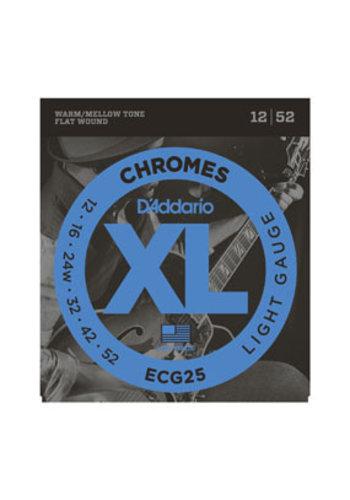D'addario Copy of D'Addario ECG26 hromes Flat Wound Medium 13-56