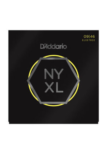 D'Addario D'Addario NYXL0946 Nickel Wound Super Light Top / Regular Bottom 09-46
