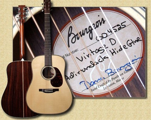 When was my Bourgeois Guitar made?