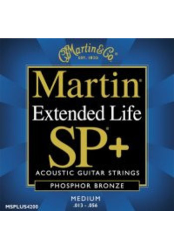 Martin Strings Martin  Extended Life SP MSPLUS4200 Phosphor Bronze Medium