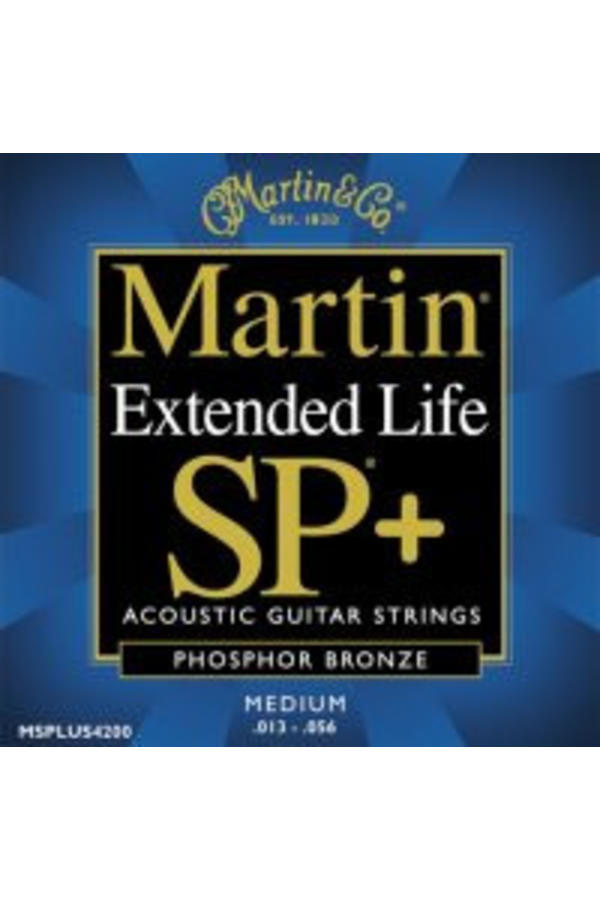 Martin  Extended Life SP MSPLUS4200 Phosphor Bronze Medium