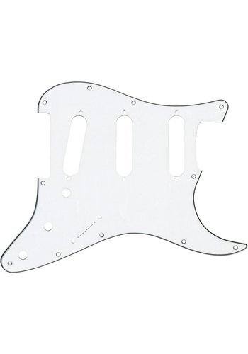 Fender Fender Genuine Parts Pick Guard Strat SSS  11HL White-Black-White