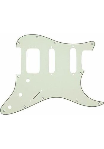 Fender Fender Genuine Parts Pick Guard Strat SSS  11HL Mint Green