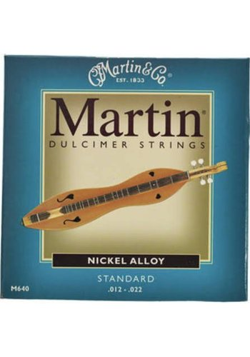 Martin Martin Dulcimer Snaren M640 Nickel