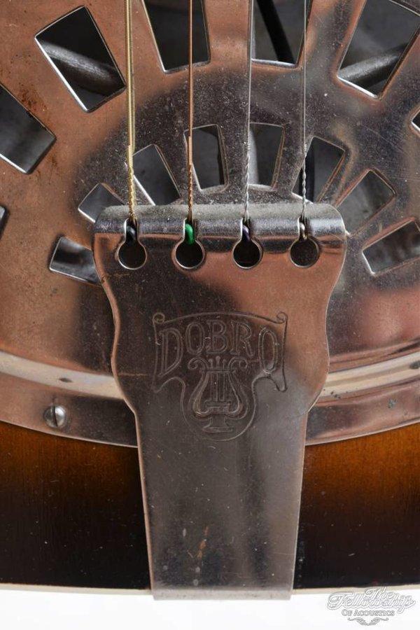 Dobro 4 string tenor resonator gitaar 1928 sunburst