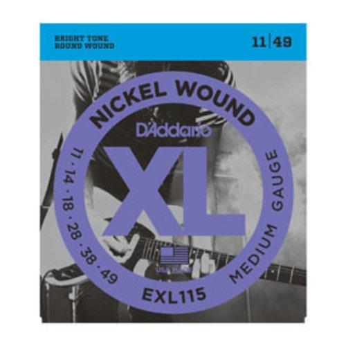D'addario D'Addario EXL115 Nickel Wound Medium 11-49