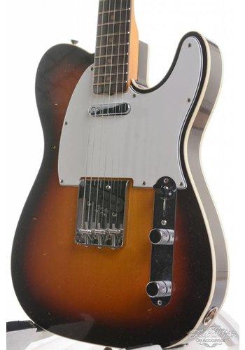 Fender Fender Tele Custom 63 Relic Journeyman 3-tone Sunburst