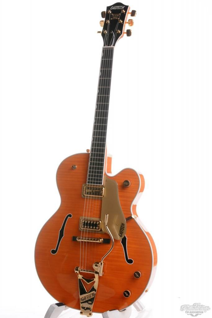 Gretsch Limited Edition Chet Atkins G6122-1959 Hall of Fame Country Gentleman Orange Flame 2011 Mint