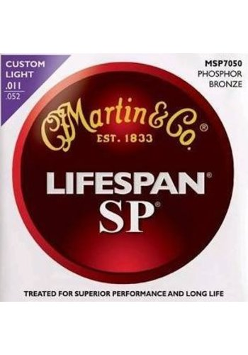 Martin Strings Martin Lifespan SP  MSP7050 Phosphor Bronze