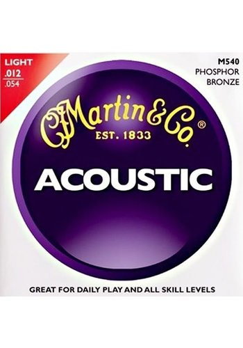 Martin Strings Martin Acoustic M540 Phosphor Bronze
