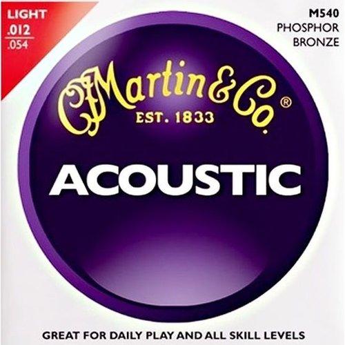 Martin Strings Martin Acoustic M540 Phosphor Bronze