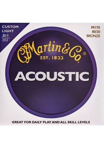 Martin Strings Martin Acoustic  M175 80/20 Bronze