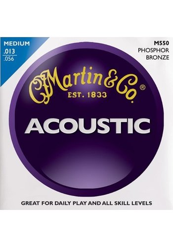 Martin Strings Martin Acoustic M550 Phosphor Bronze