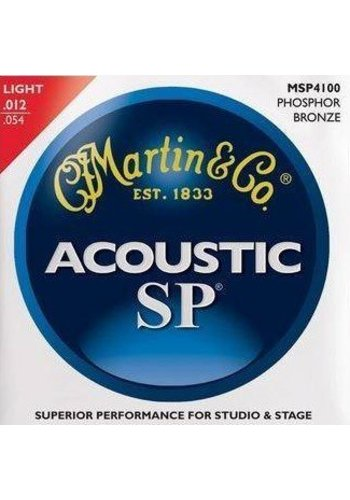 Martin Strings Martin Strings MSP4100 SP Phosphor Bronze Light snarenset