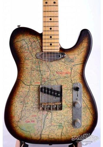 Guy Oudenot Guy Oudenot Custom made Nashville Map Telecaster NM
