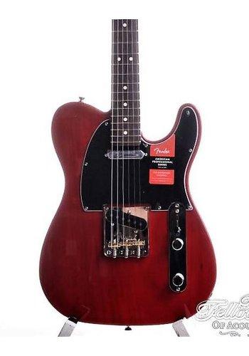 Fender Fender American Professional Telecaster Crimson Red Transparant RW
