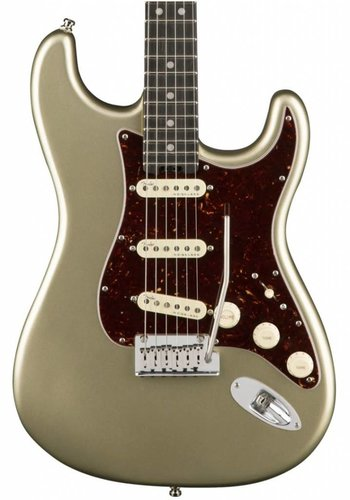 Fender Fender American Elite Stratocaster Champagne Ebony fretboard