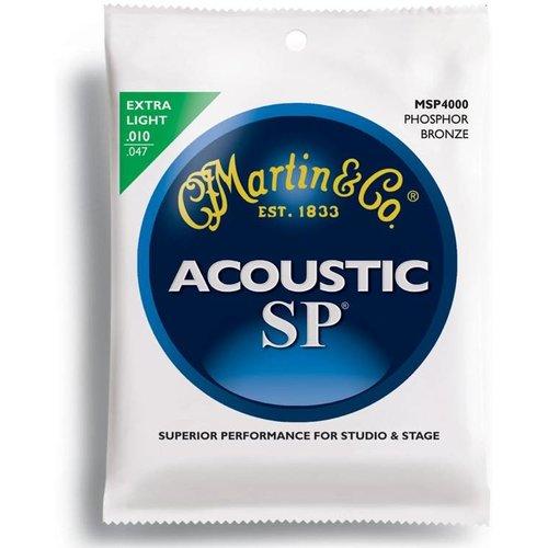 Martin Strings Martin Strings Acoustic SP MSP4000 Phosphor Bronze Extra Light .010-.047