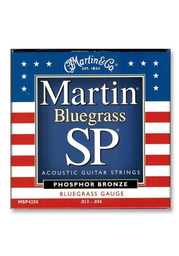 Martin Martin Bluegrass SP MSP4250 Phosphor Bronze Bluegrass Guage 013-056