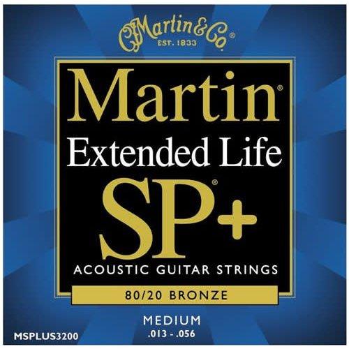 Martin Martin MSPLUS3200 013-056 80/20 SP+ Extended life strings