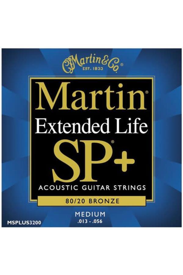 Martin Extended Life SP+ 80/20 Bronze MSPLUS3200