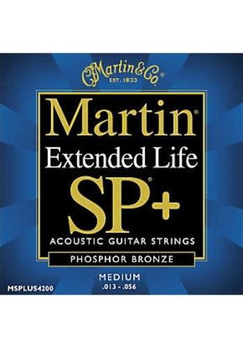 Martin Strings Martin Extended Life SP+ MSPLUS4200 Phosphor Bronze Medium 013-056