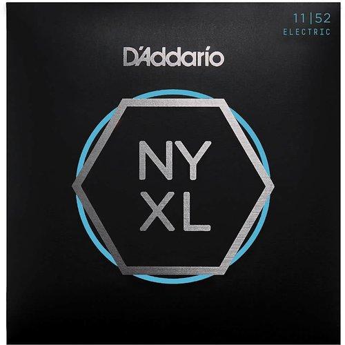 D'addario D'Addario NYXL1152 Nickel Wound Electric Guitar Strings 11-52 Medium Top/Heavy Bottom