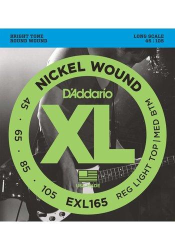 D'addario D'Addario EXL165 45-105 Nickel Wound Light/Med Long Scale