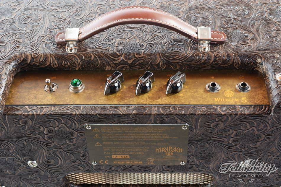maybach amplifier wilhelm 5w reverb combo - the fellowship of acoustics