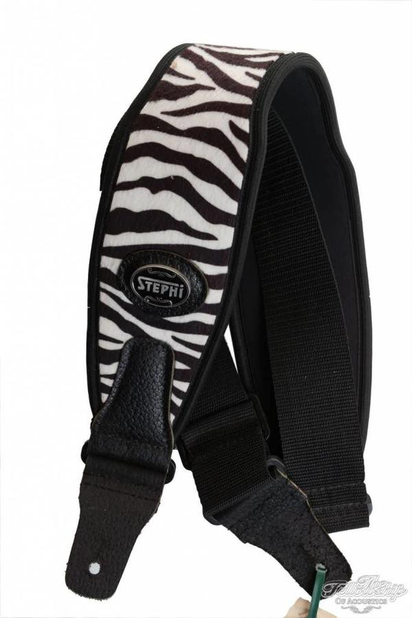 Stephi Neo-805 Zebra Guitar Strap