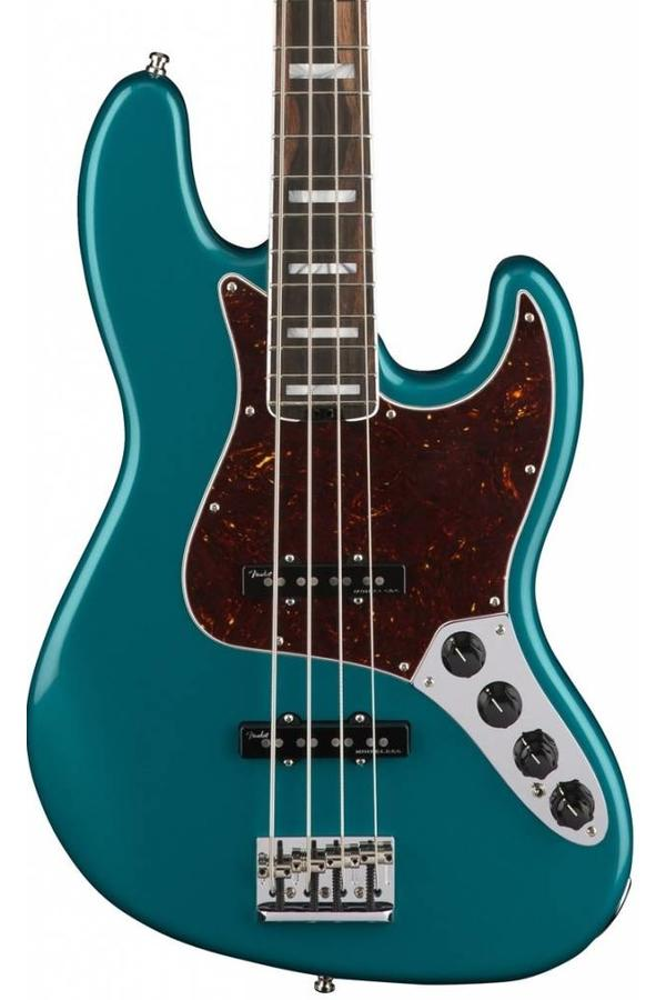 Fender American Elite Jazz Bass EB Ocean Turquoise Blue