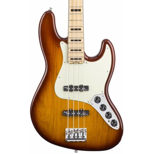 Fender Fender American Elite Jazz Bass ASH MN Tobacco Sunburst