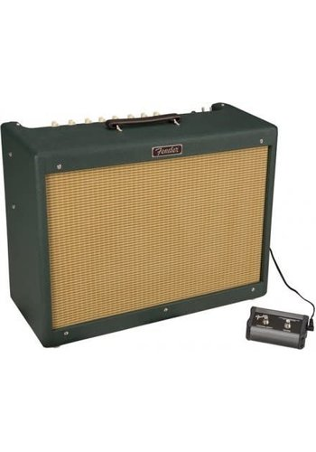 Fender Fender Blues Deluxe Emerald green Red Coat speaker