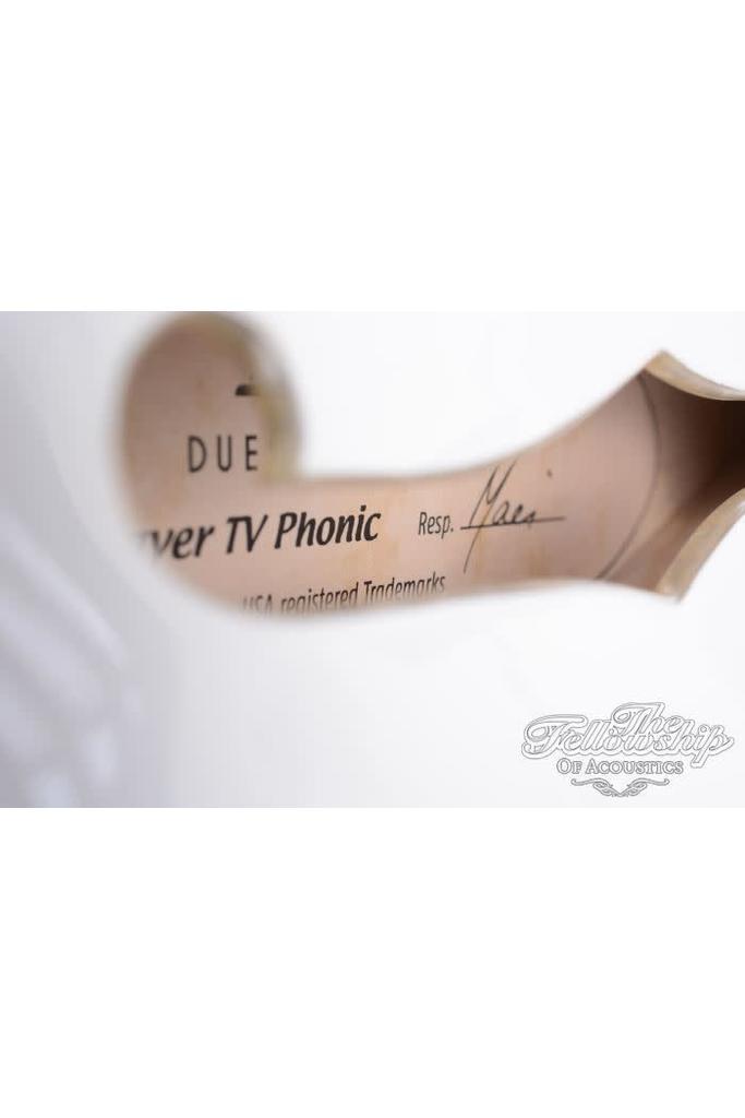 Duesenberg Starplayer TV-Phonic Venetian White
