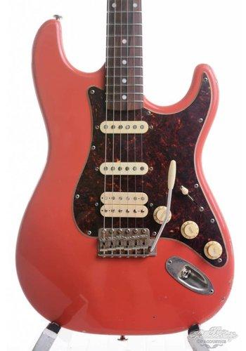 Haar Haar Trad S Fiesta Red HSS Suhr V60 Amber LP 59