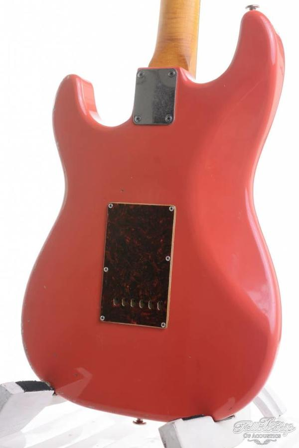 Haar Trad S Fiesta Red HSS Suhr V60 Amber LP 59