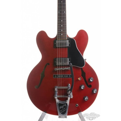 Gibson Gibson ES335 Bigsby Cherry Flame Red 1998