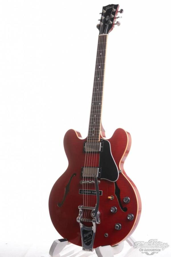 Gibson ES335 Bigsby Cherry Flame Red 1998