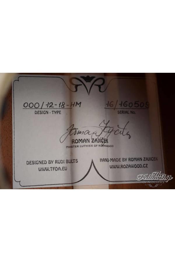 R&R 00018S Authentic style 12 fret LR baggs Anthem HM-AS 2016