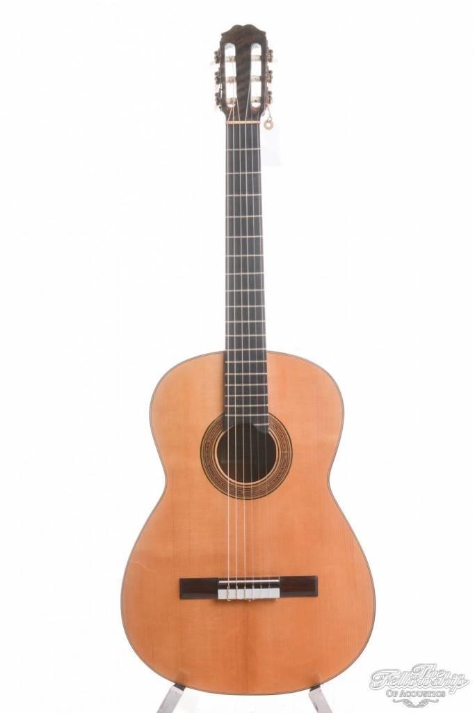 Sobrinos de Santos Hernandez Flamenco Guitar, CY-GS, 1964