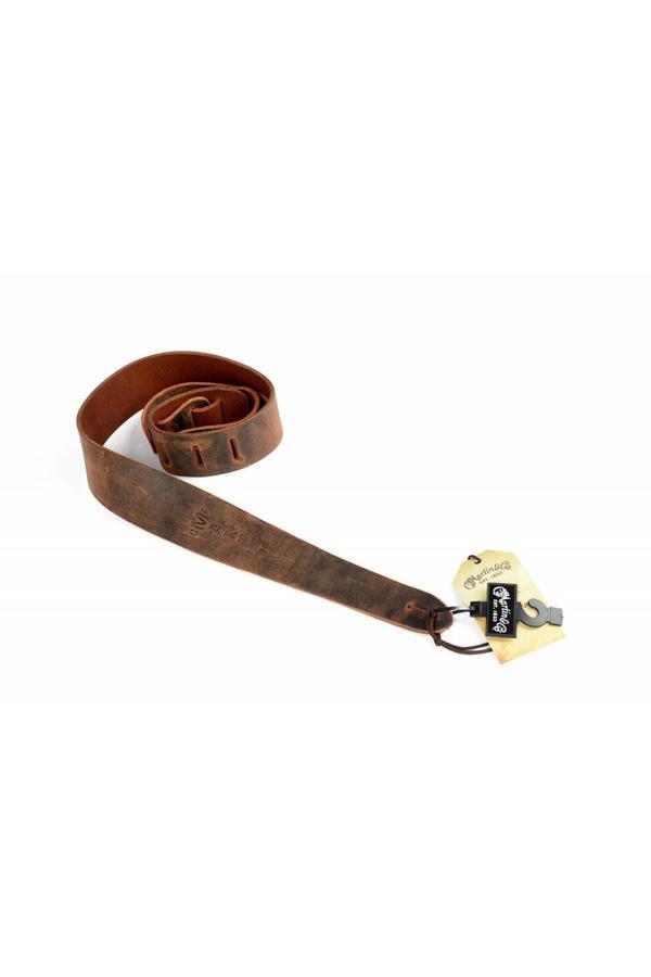 Martin Vintage Belt Leather Strap - Brown