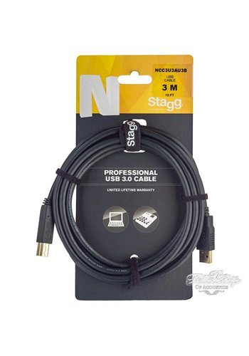Stagg Stagg NCCUAUB 3m (10Ft) Professional USB 2.0 Cable