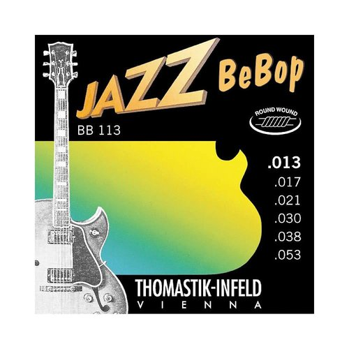 Thomastik-Infeld Jazz BeBop Light 13-5 Thomastik Infeld BB113 Electric Guitar Strings