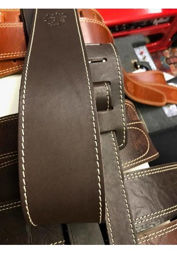 Bayus Bayus guitar strap genuine leather classic brown